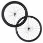 Paire de roues Miche carbone à boyaux corps Shimano