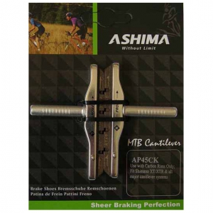 Paire de patins+cartouche Ashima cyclo cross carbone