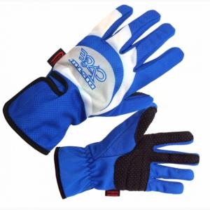 Gants wind stoper bleu