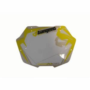 Plaque de cintre Mini BMX Tangent Blanc et Jaune