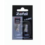 Bouchon de valve ZEFAL V-Kaps argent
