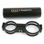 Support compteur cardio TRIGON carbone