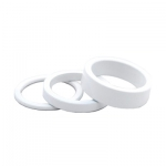 Spacer alu SPORTRAKER 5mm 1p1/8 blanc - Plus d