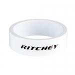 Entretoises Ritchey blanches 10 mm 1pouce1/8