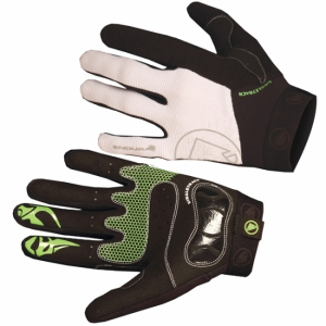 Gants VTT Freeride ENDURA Singletrack 2 blanc