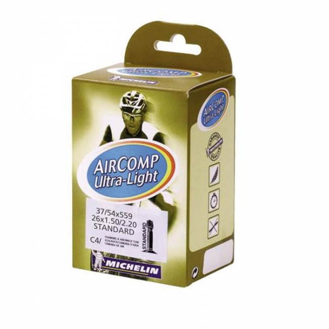 Chambre air michelin c4 26x1 5 2 2 presta ultralight for Chambre a air 26x1 5