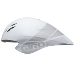 Casque chrono GIRO Advantage II blanc-argent - Plus d