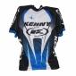 Maillot Vélo Manches Courtes Kenny Racing Bleu