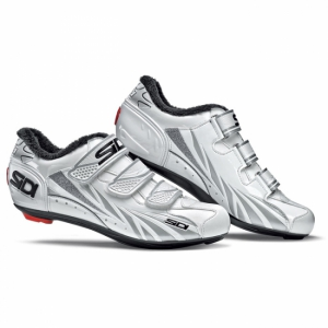 Chaussures Sidi Route Winter Moon Femme Blanc/Argent