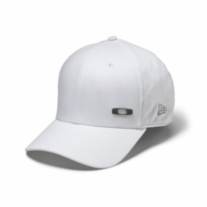 Casquette Oakley Metal Square New Era 39 Thirty blanche