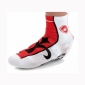 Surchaussures WILIER blanc-rouge