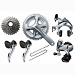 Groupe SHIMANO 105 5800 172mm  PF 52/36 - Plus d