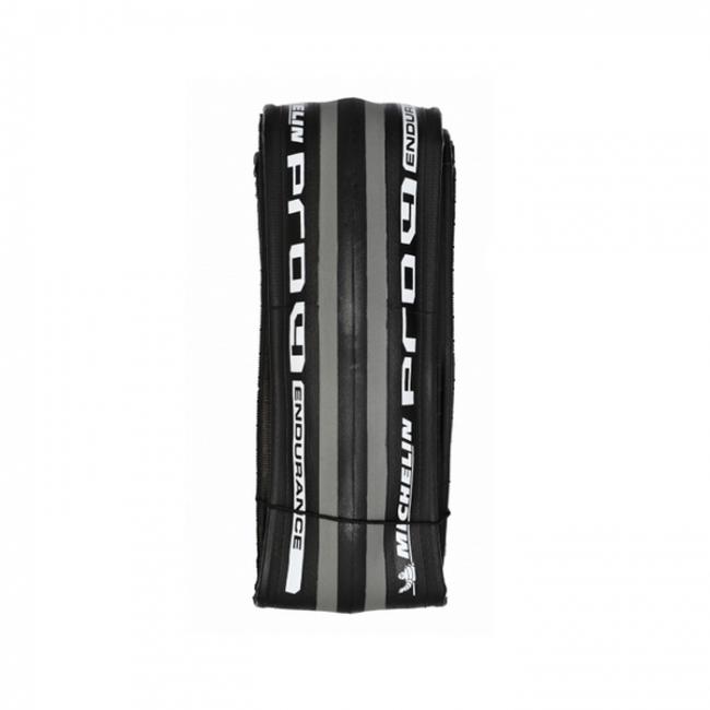 lot 2 pneus michelin pro 4 endurance 700 25 noir gris pneus. Black Bedroom Furniture Sets. Home Design Ideas