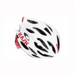 Casque KASK Mojito X blanc rouge - Plus d