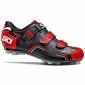 Chaussures SIDI BUVEL noir-rouge-blanc