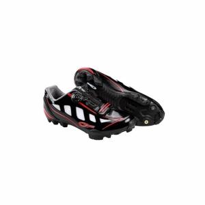 Chaussures VTT RIDER noir/rouge