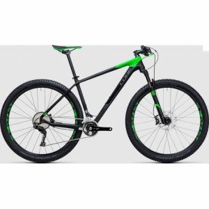 VTT CUBE REACTION GTC Race 2*27.5 carbon green