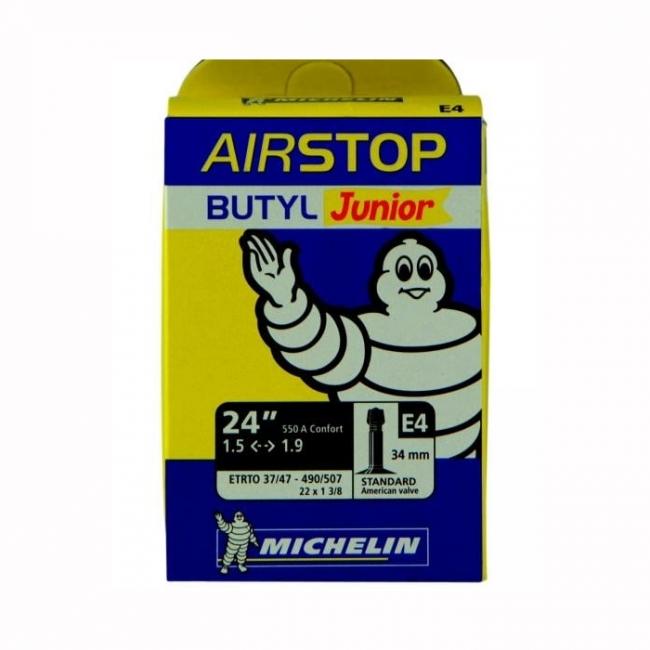 """Chambre a air 24/""""//550a confort e4 presta fabricant Michelin"""
