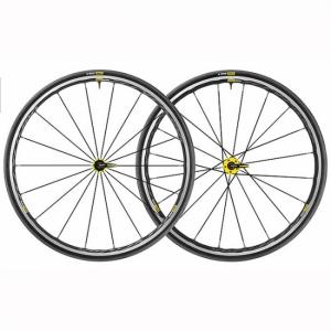 Roues MAVIC Elite UST yellow 2018