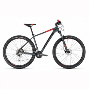 VTT CUBE Analog grey red 2018