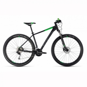 VTT CUBE AIM SL 29 black´n´flashgreen