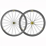 Roues MAVIC Elite UST yellow 2018 - Plus d