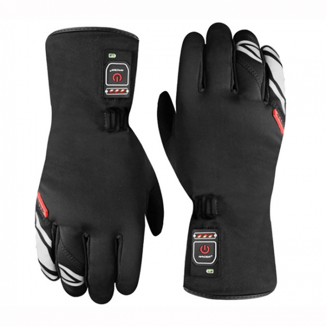 gants racer e glove 2 gants chauffants 2018 soldes. Black Bedroom Furniture Sets. Home Design Ideas