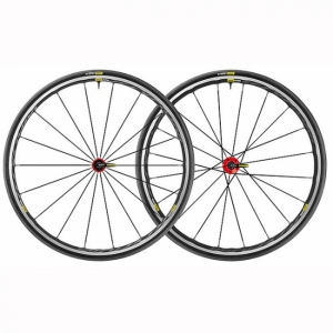 Roues MAVIC Ksyrium Elite UST Red