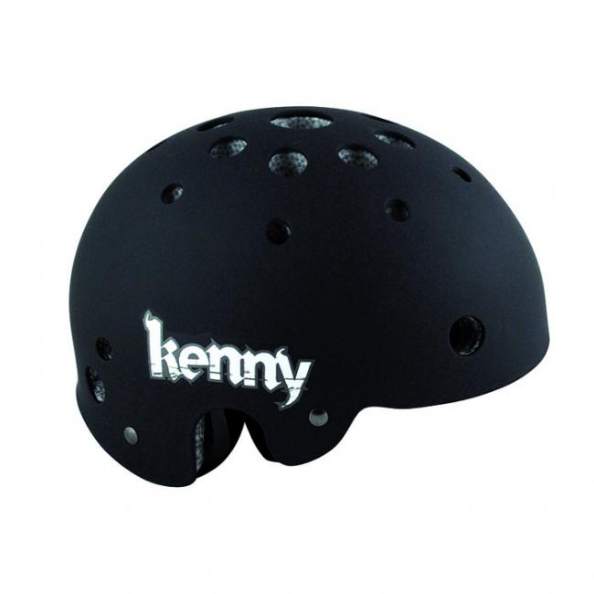 casque dirt bmx kenny casque kenny noir mat promo quipement. Black Bedroom Furniture Sets. Home Design Ideas