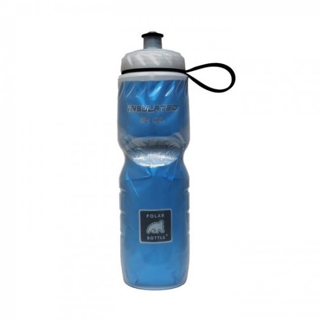 bidon isotherme polar bottle 70 cl bleu v lo promo. Black Bedroom Furniture Sets. Home Design Ideas