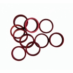 Bagues de rehausse SPORTRAKER aluminium 1P1/8 rouge - Plus d