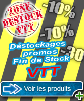Promotions produits VTT